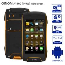 Original Oinom LMV11H Rugged Phone IP68 Octa Core Waterproof phone 4G LTE Dual Sim Shockproof MTK6752 2G RAM 13.0MP Smartphone