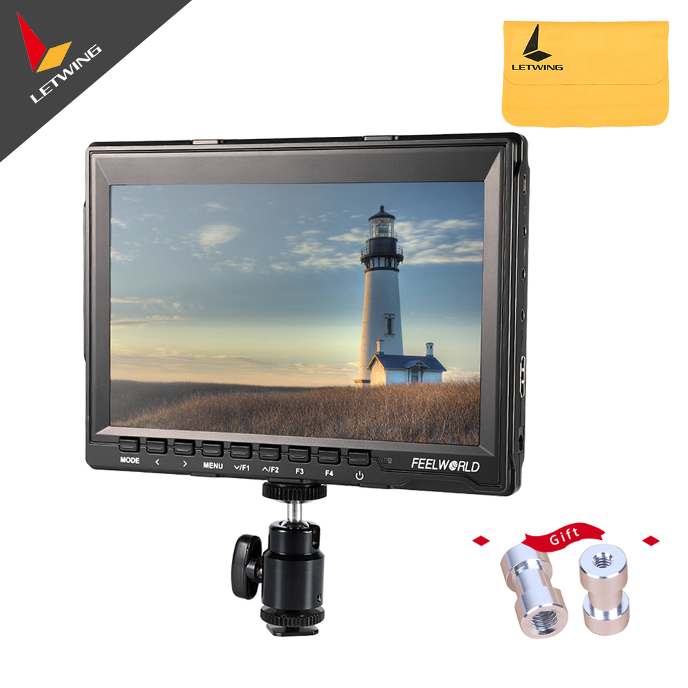 FEELWORLD FW759 7 HD 1280x800 Camera Field Monitor HDMI Input for BMPCC HD LCD Monitor