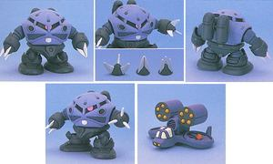 Image 2 - Bandai SD BB GG 43 Gundam 07 ZGOK Mobile Suit Assemble Model Kits Action Figures Childrens toys