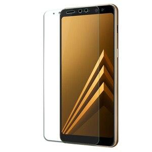 Image 4 - 9 H de Vidro Temperado Para Samsung Galaxy A8 2018 Temperado Tela de Vidro Para Samsung Galaxy A8 2018 A530 A530f SM a530F protetor Flim