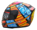 Marushun Valentino Rossi Helmets Motorcycle Full Face Helmet Carting Racing Dirt Bike Capacete Casco DOT Approved