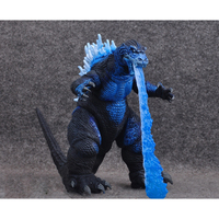 Cartoon Gojira Atomic Blast blue dinosaur PVC action figure doll model toy cosplay cool toy Birthday holiday gift