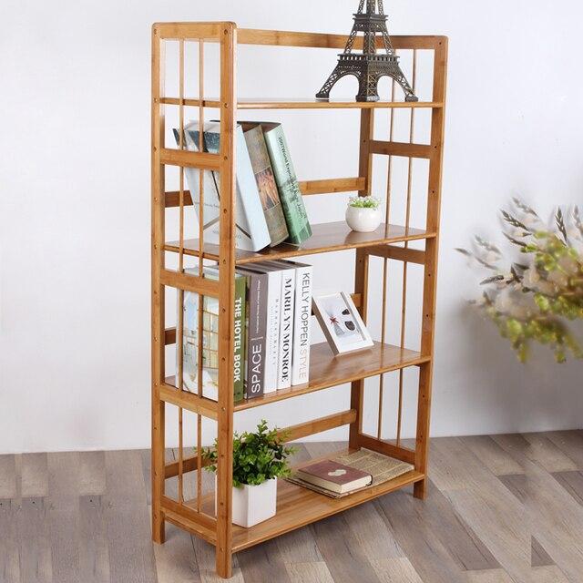 Oji Dicken Bambus Regale Ikea Einfache Holz Clapboard Regal Kreative