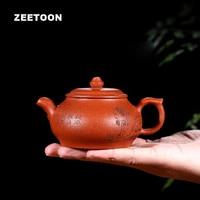 160 мл Аутентичные Исин Чай горшок мастер ручной работы маленький пан горшок китайский здоровья фиолетовый глины Чай комплект Чай горшок Чай