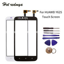 Front Outer Glass Lens For Huawei Y625 Touch Screen LCD Glass Digitizer Panel Front Sensor Parts Wth Tool Black White ulefone be touch 3 lcd display with front panel touch glass lens digitizer screen original parts free shipping
