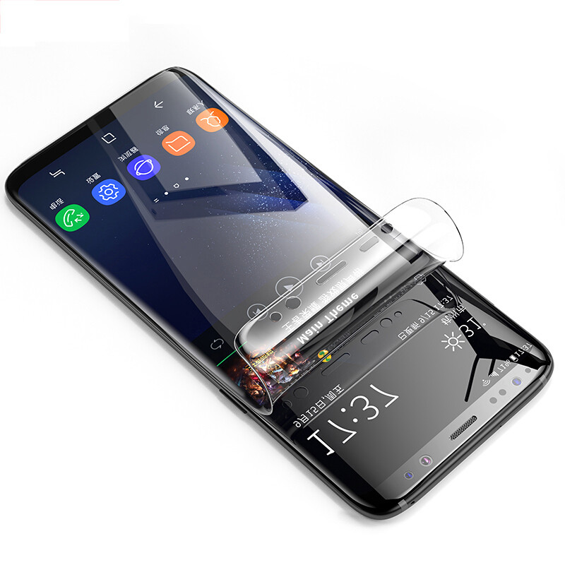 3D Curved PET Soft Film For Samsung Galaxy S9 Plus S8 Plus S7 S7edge S6 edge Plus Note 8 Full Cover Screen Earphone Accessories