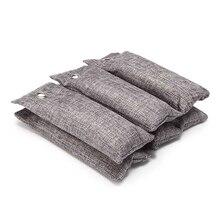 2 шт. сумка для очистки воздуха натуральный активированный уголь Бамбук абсорбер для удаления автомобиля домашний дезодорант освежитель воздуха сумки
