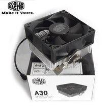Cooler mini cooler master a30 8cm para amd am4, am3 am3 + am2 am2 + fm2 radiador pc fm2 + fm1 80mm ventilador