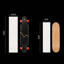 New Arrivals 126*27cm Longboard Clear Scooter Sandpaper Sticker Skateboard Thickened Grip Tape Skate Free Shipping