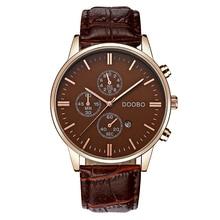 Watch Men Fashion Quartz-watche top brand luxury Casual Military Sport Wristwatch Leather Strap Male Clock men relogio masculino