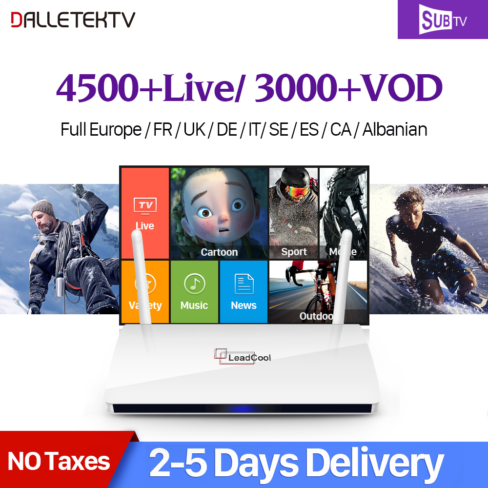 Dalletektv Leadcool Smart Android 60 Tv Box Ip 1 Tahun Subtv Casing Iphone 6 6s Karakter Sakuragi Slam Dunk Basket Iudtv Qhdtv Kode Iptv Eropa Belgia Perancis Arab Kotak