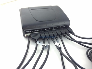 Image 2 - Auto Sensore di Parcheggio Display LCD monitor Parktronic sensore rilevatore di auto 6 Colori di Sostegno 8 sensori 12V inversione di sostegno