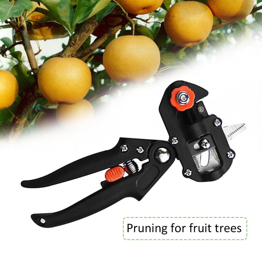 Professional Garden Tree Pruning Grafting Scissor Fast Cutting Blades Tools Kit Set with Box Drop Shipping High Quality
