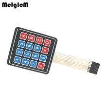 MCIGICM 4*4 เมทริกซ์อาร์เรย์/Matrixคีย์บอร์ด 16 Key Membrane SWITCH