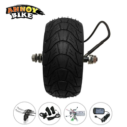 48V 1000W 8 Cal elektryczny zestaw silnika rowerowego Fat Tire 200*85 8''wheel bezszczotkowy bezzębny silnik piasty E koło rowerowe z akcesoriami