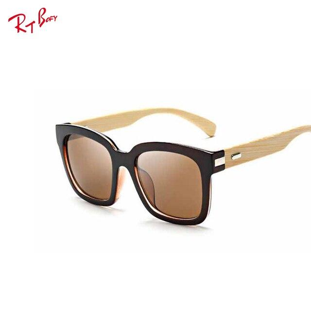 2017 hot Wood Sunglasses retro glasses men bamboo Top quality Women Sun Glasses brand designer Ray UV400 glasses