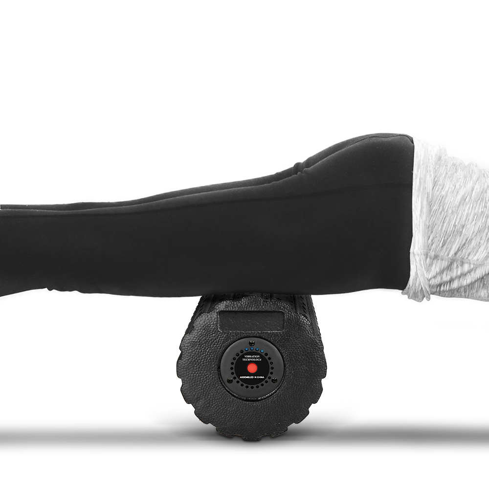 New 4 Speed Vibrating Fitness Foam Roller Fitness Yoga Roller Massage Muscle Recovery Deep Tissue Massage Physiotherapy