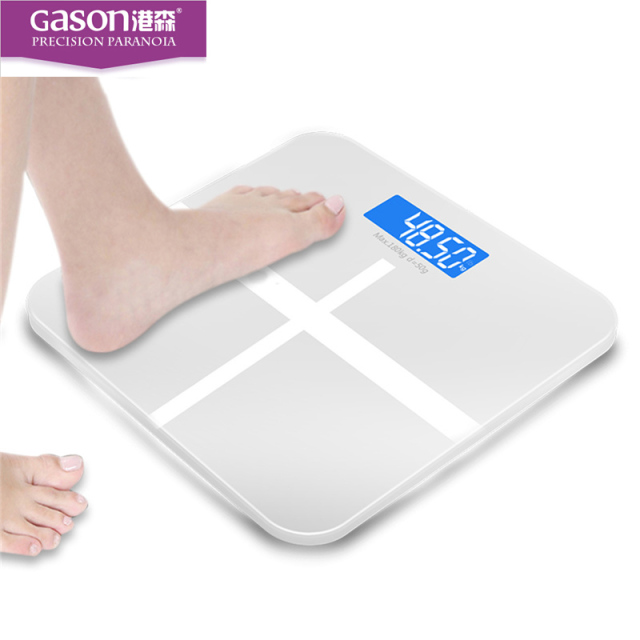 Gason Lcd Household Electronic Digital Bathroom Weight Weighing Scale Machine Bath Ware Balance Scales Products Tools