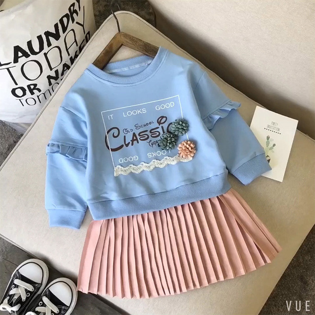 LZH 2019 Autumn and Spring Long Sleeve Party Dress For Girls