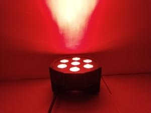 Image 4 - LED 파 스테이지 RGBWA UV rgbw 4in1 5in1 6in1 조명 DJ DMX 7X12W 7x18W 7x15W LED 플랫 SlimPar 쿼드 라이트 No Noise
