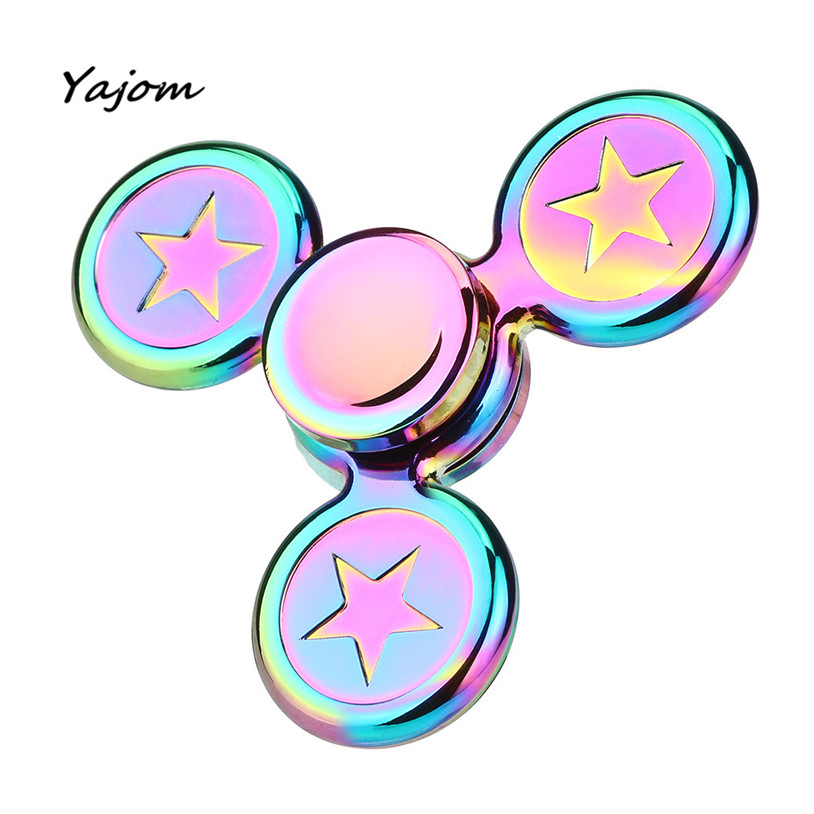Free for shipping Hand Spinner Fidget Copper Ball Desk Focus Toy EDC For Kids Adults Brand