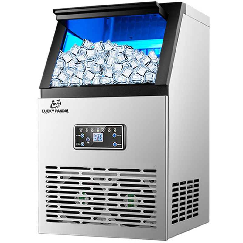 Automatic Ice Making Machine 60 Kg Commercial Or Household For Bar Coffee Milk Tea Shop Electric Cube Ice Maker Machine Portable