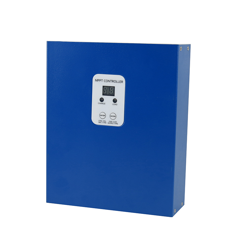 40A MPPT LCD Solar Charge Controller RS232 PC communication 12V 24V 48V solar Panel battery charger solar regulator e-Smart