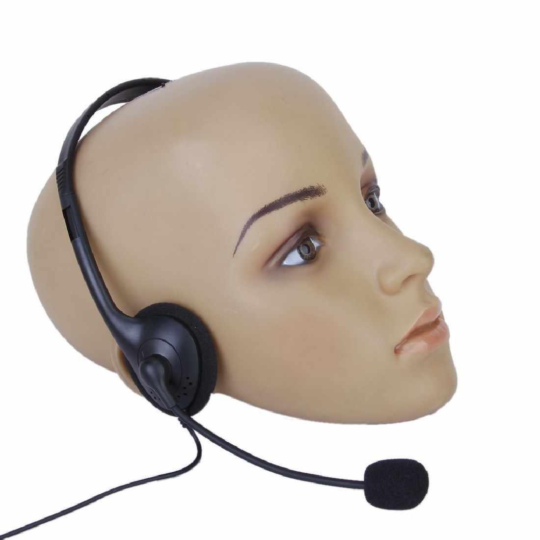 Marsnaska 3.5mm wired משחקי אוזניות אוזניות אוזניות + מיקרופון מיקרופון אביזרי עבור PS4 מחשב שחור