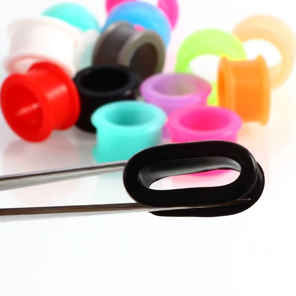 Alisouy 3-25mm silicona oído enchufes y túneles dilatación Piercing túnel oído túneles camillas macho oreille medidores de oído