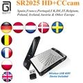 XP10 GOTiT SR2025 MINI DVB-S2 receptor de Satélite Receptor USBWiFi CCcam IPTV VOD Sunplus1507 Multi-CAS H.265 como o Presente Conjunto de Top Box