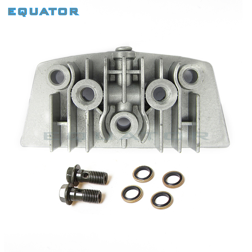 Motorcycle Parts CYLINDER HEAD Side Cover With Oil Throgh Screw FOR 50cc  110cc Engine PIT DIRT BIKE