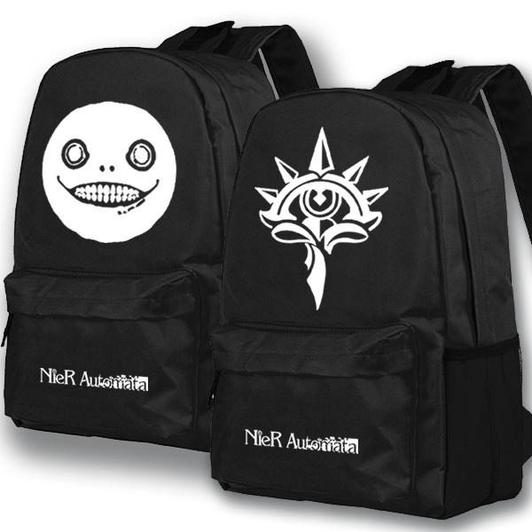 NieR:Automata 2B Backpack Anime School Bags Student Bookbag Shoulder Travel Bag cafe cellular automata fuzzy engine