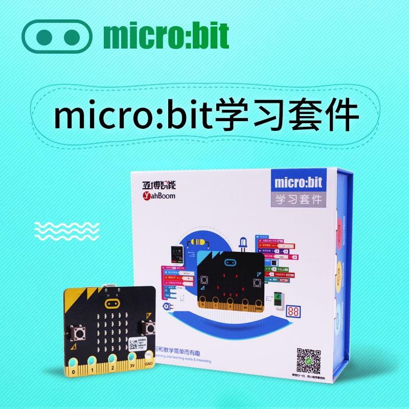 Mikro: nieco się dobrze bawić, zestaw Microbit graficzny tablica programowania macierzystych w Części i akcesoria od Zabawki i hobby na  Grupa 1