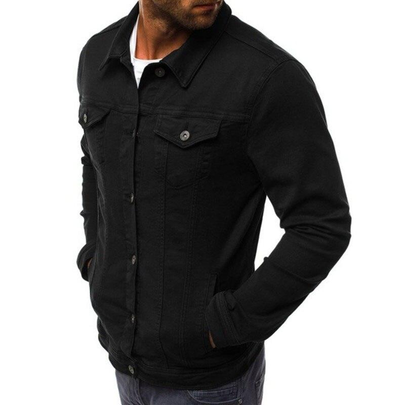 HTB1Foj6LHvpK1RjSZPiq6zmwXXa9 2019 men's Jacket casual overalls jacket jacket Coats Man Buttons