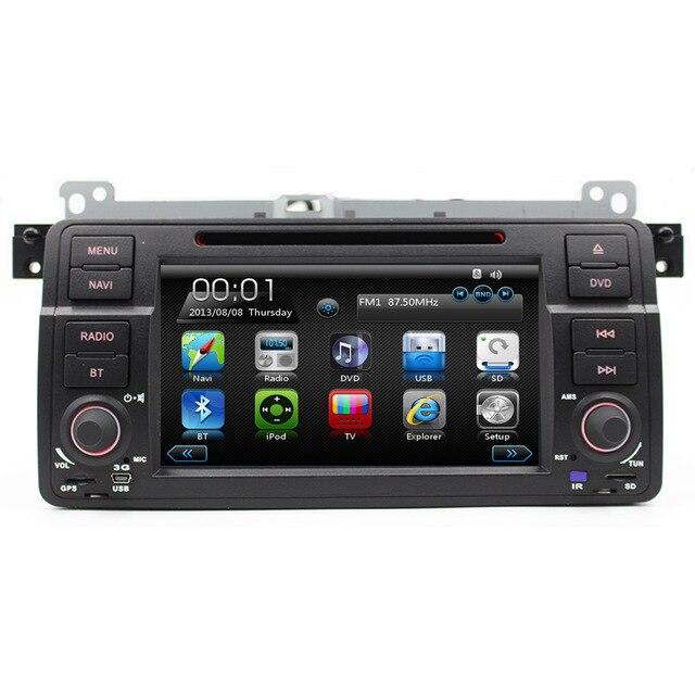 7 HD Touch Screen font b Car b font DVD Player GPS Navigation for BMW E46