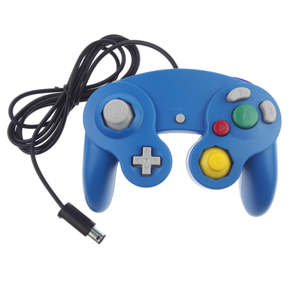 Image 5 - HAOBA Game Shock JoyPad Vibration For Ninten for Wii GameCube Controller for Pad Two kinds interface Multi color optional-in Gamepads from Consumer Electronics