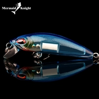 5pcs Topwater Minnow Fishing Lures 7CM Crankbait Tackle Tiddler Bait Bass Trout Shad Tackle Spinner Sea