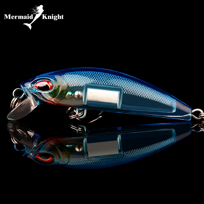 5pcs Topwater Minnow Fishing Lures 7CM Crankbait Tiddler Bait Bass Trout Shad Tackle Spinner Sea Pike Fishing Wobblers Tackle