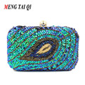Beaded Ladies Evening Bags Party Women Clutch Bags 2017 High Quality Sequined Clutch Wallet Purse Phone Crossbody Shoulder Bag 3