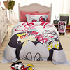 High Quality Minnie Mouse 100 Cotton Bedding Set For Girl S Home Decor Cartoon Comforter Cotton
