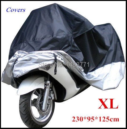 Big Size Motorcycle Cover Xl Waterproof Outdoor Uv Protector Bike Rain Dustproof, Covers for Motorcycle, Motor Cover Scooter G