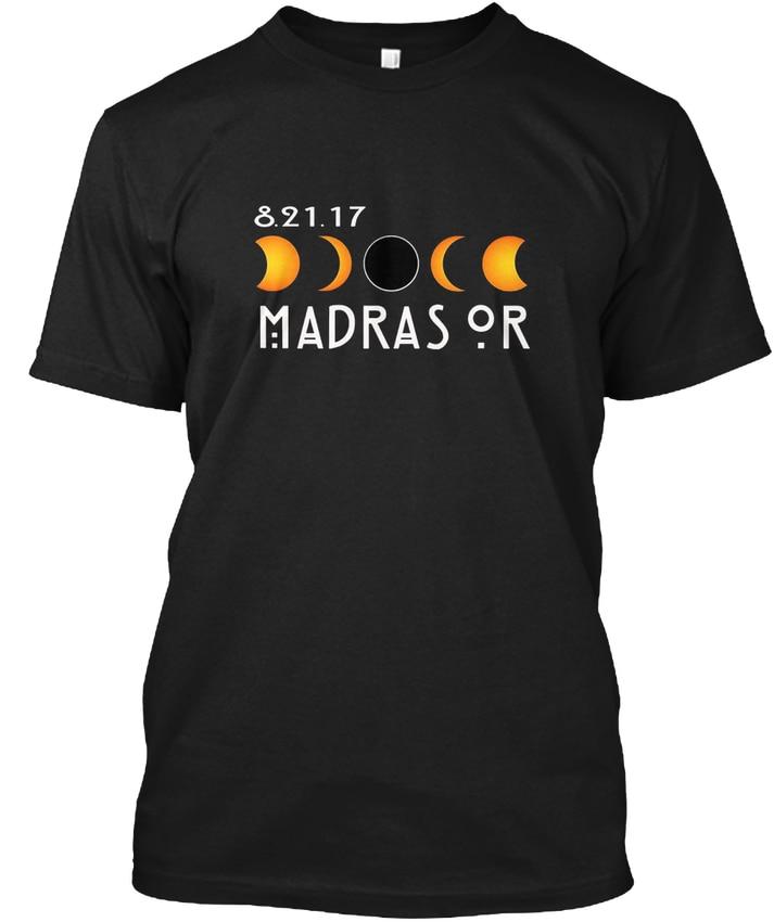 Madras Oregon Total Solar Eclipse 2017 - 8.21.17 Or popular Tagless Tee T-Shirt