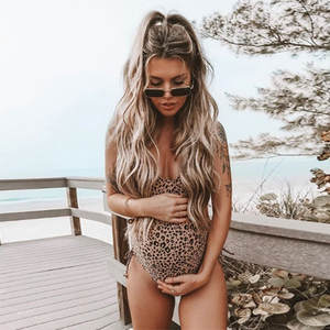 Maternity Swimwear Women Clothes 2020 Summer One Piece Pregnancy Swimsuit Swimwears Leopard Printed Beach Bathing Suits M22#25