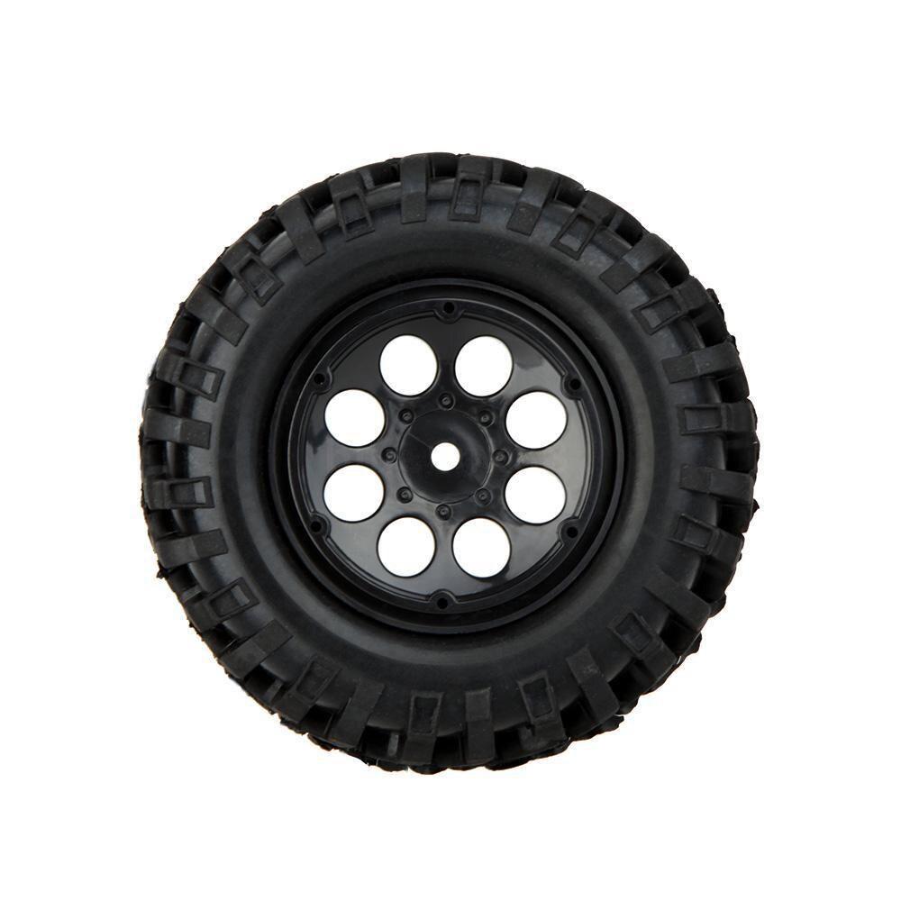 MACH 100% 4X 1/10 Climber Off-road Car Wheel Rim+Tire 260001 for Traxxas HSP RC Car