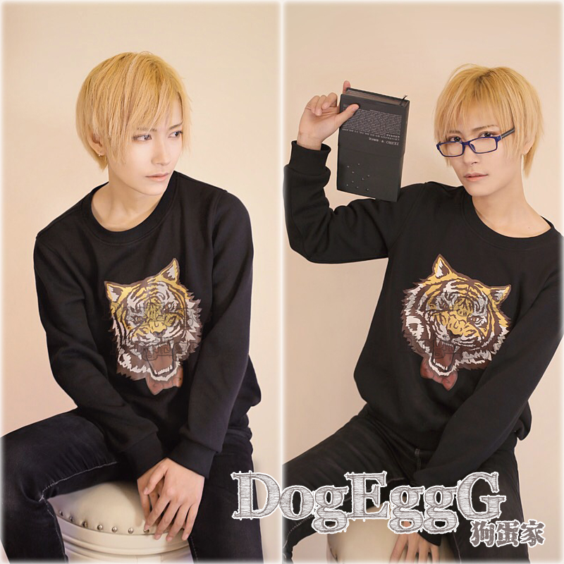 Yuri!!! on Ice Yuri Plisetsky anime Cosplay Costume halloween tiger hoodies