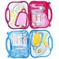 La simulación médica kit niños pretend play doctor series kits niñas enfermería jugando hourse clásico juguete función play