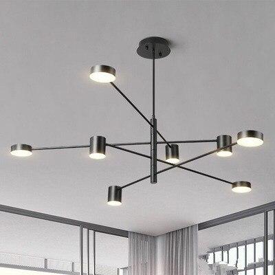 Moderne Led Kronleuchter Decke Nordic Anhanger Indoor Lampen Fur Wohnzimmer Restaurant Schlafzimmer Beleuchtung Lampadari Hause
