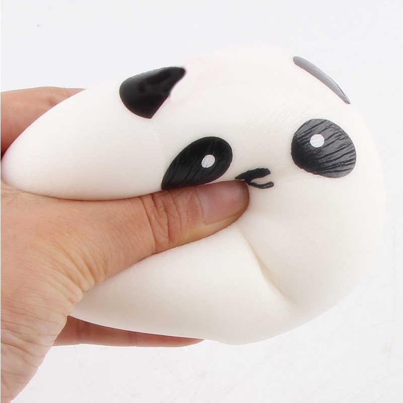Juguete blando Panda de dibujos animados unicornio ciervo Squishy crema de crecimiento lento juguete perfumado niños Kawaii Squish juguete antiestrés aliviador de estrés