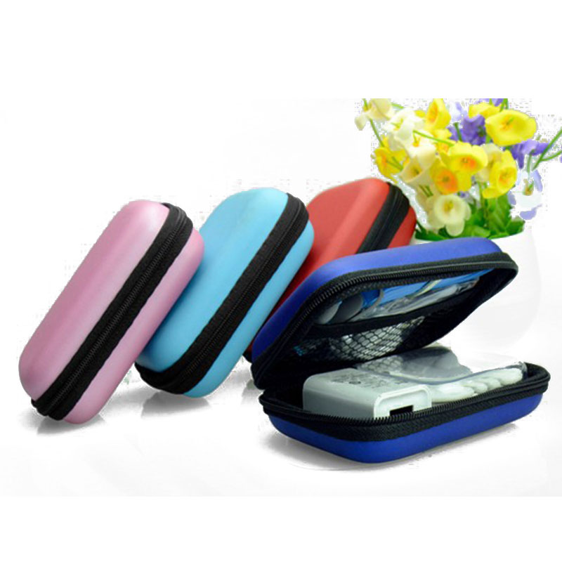Colorful Headphone font b Case b font Travel Storage font b Bag b font Headphone Protective