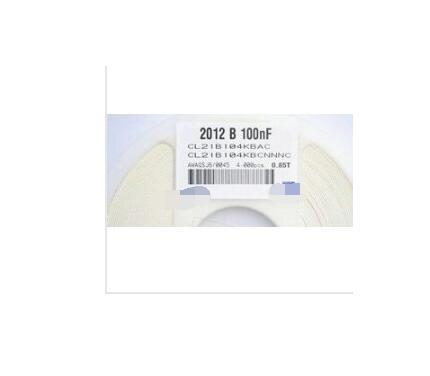4000 PCS SMD 2012 0805 100nf 0.1 uf 104 X7R  50 V 10%